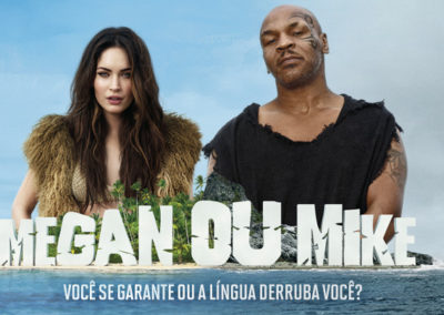 Megan Fox e Mike Tyson - CCAA